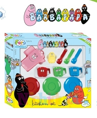 Set de ceai Barbapapa