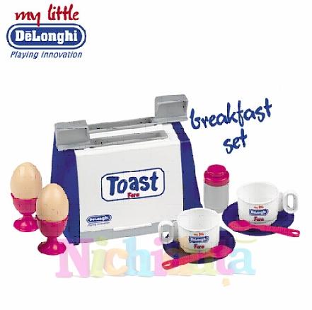 Set mic dejun cu toaster De Longhi