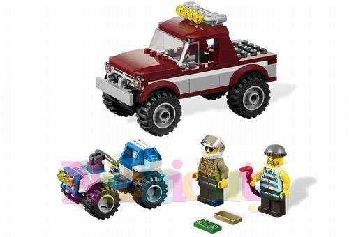 Urmarirea cu politie din seria LEGO CITY
