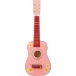 Chitara roz cu flori