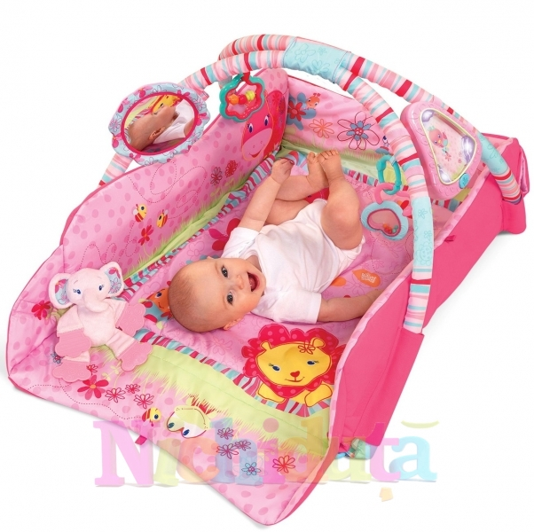 Bright Starts-Baby Play Place Pink