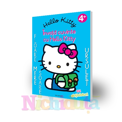Cartea Hello Kitty-Invat cuvinte in eng