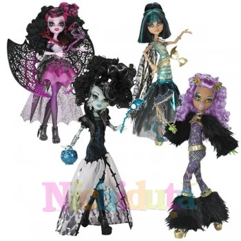 Papusa Monster High Ghouls Rule - CLEO D