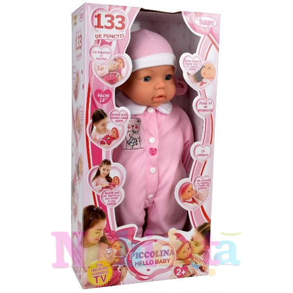 Papusa Picollina Hello Baby 2
