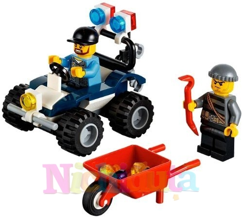 ATV de politie din seria LEGO City