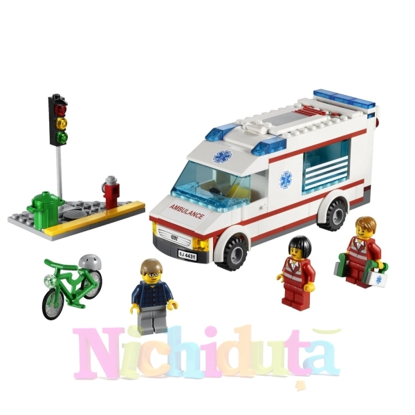 Ambulanta din seria LEGO City