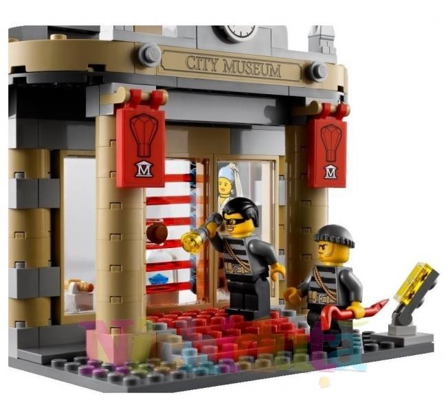 Asaltul muzeului din seria LEGO City