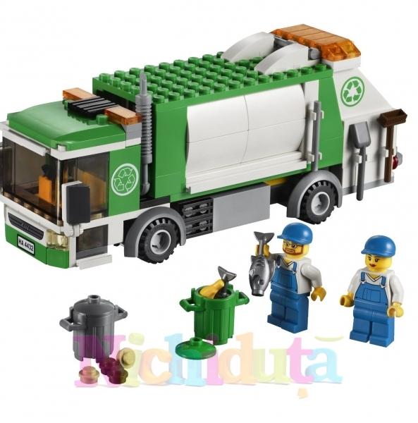Masina pentru gunoi din seria LEGO City