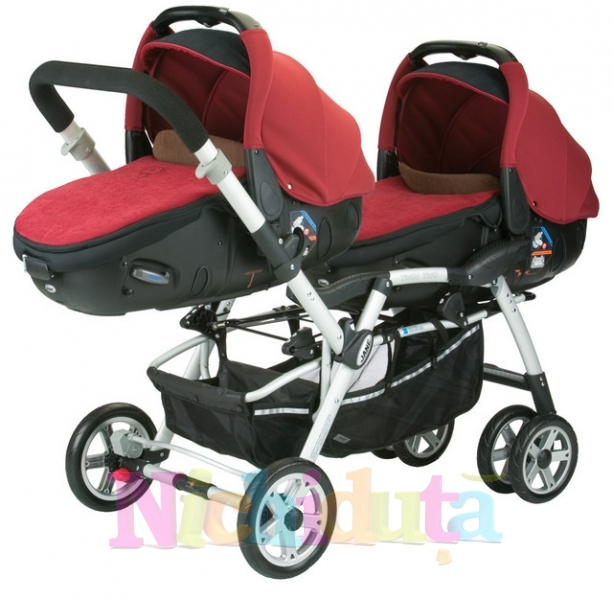 Carucior sistem gemeni Jane Twin Two Mat