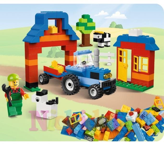 Cutie LEGO ferma