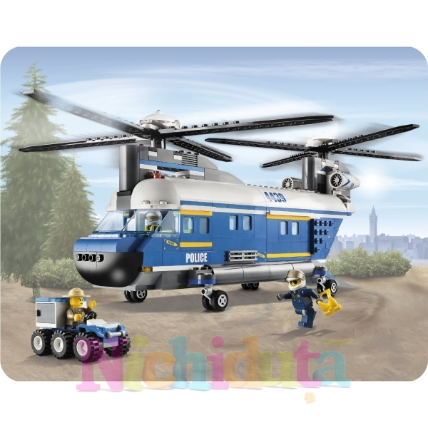 Heavy-Lift Helicopter din seria LEGO