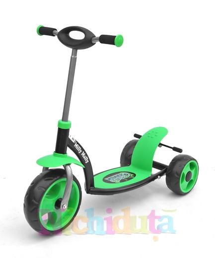 Trotineta Milly Mally Sporty Green