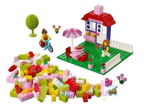 Valiza roz LEGO
