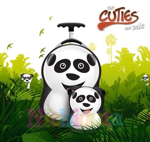Ghiozdan si valiza Cheri the Panda
