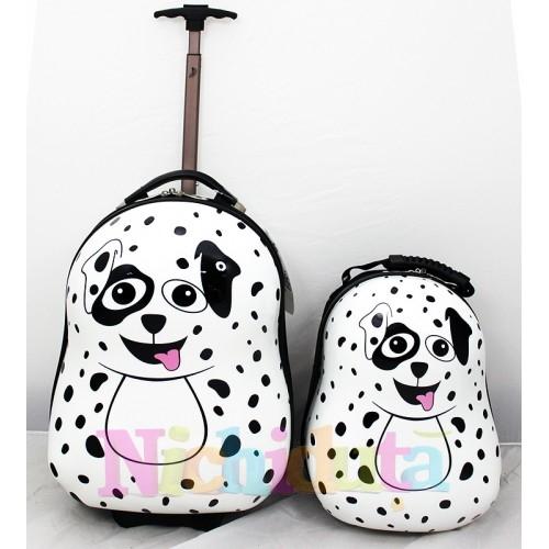 Ghiozdan si valiza Pupster the Dalmatian