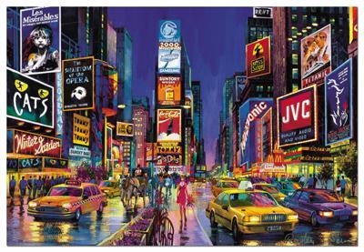 Puzzle 1000 Piese Times Square New York