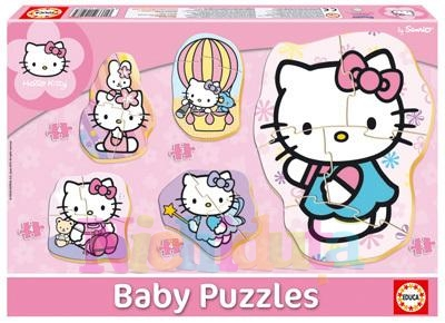Puzzle Baby Hello Kitty