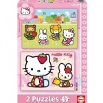 Puzzle Hello Kitty 2x20