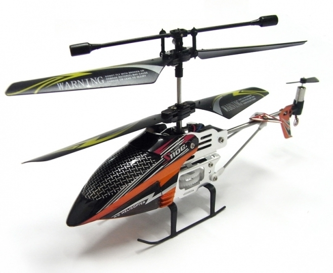 Poza Cel mai MIC elicopter cu Gyro, doar 12 cm, Syma S110G