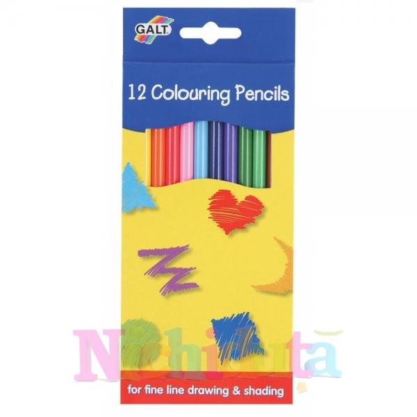Set 12 creioane de colorat 12 Colouring