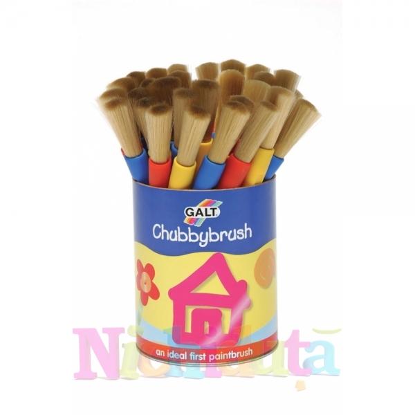 Pensula in cutie Chubbybrush Cani