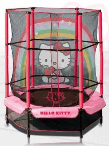 trambulina copii hello kitty 140 cm trambulina copii hello kitty 140 ...