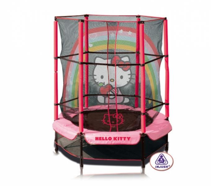 Trambulina copii Hello Kitty 140 cm
