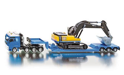 Transportor greu si excavator 150