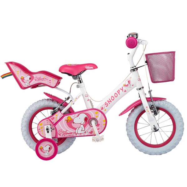 Bicicleta Snoopy Best Friend 12 Ironway