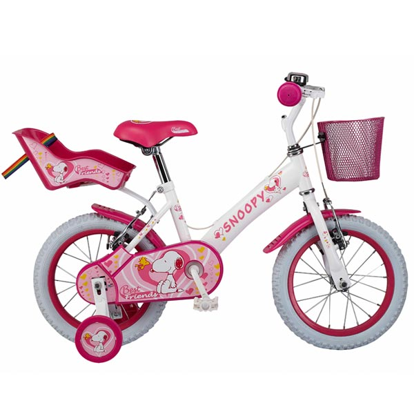 Bicicleta Snoopy Best Friend 14 Ironway