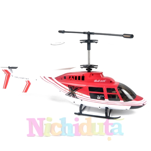 Elicopter cu radiocomanda Bell 206, Syma S030G, 3 canale