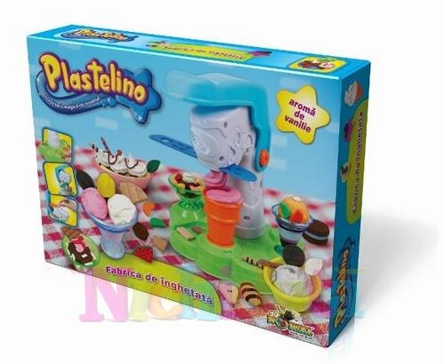 Plastelino - Fabrica de Inghetata - Set de Plastilina