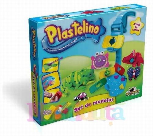 Plastelino - Set de Plastilina cu Unelte 2