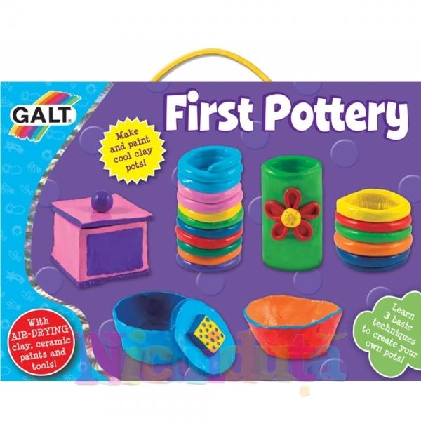 Primul meu kit de olarit First Pottery