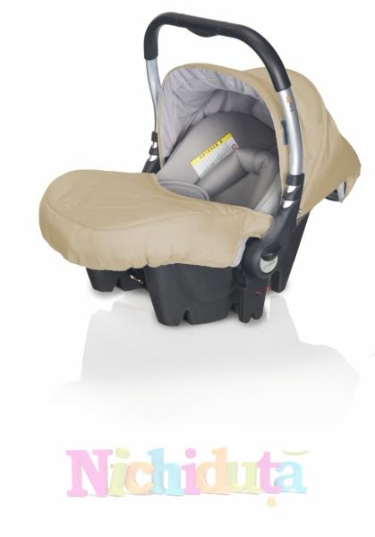 Scaun auto New Baby Zero Plus Sand