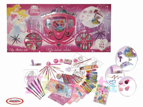 Set de rechizite creativitate DISNEY PRINCESS