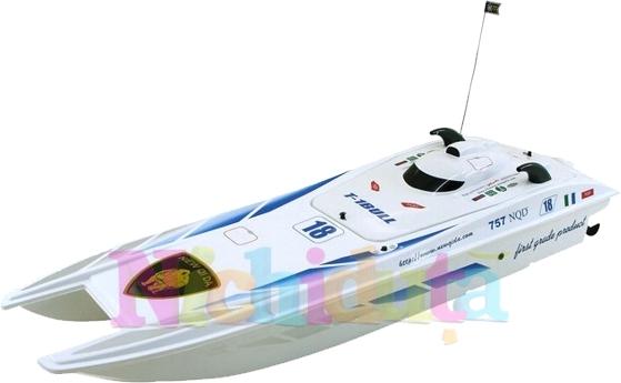 Speed Boat Predator cu Radiocomanda, Scara 125