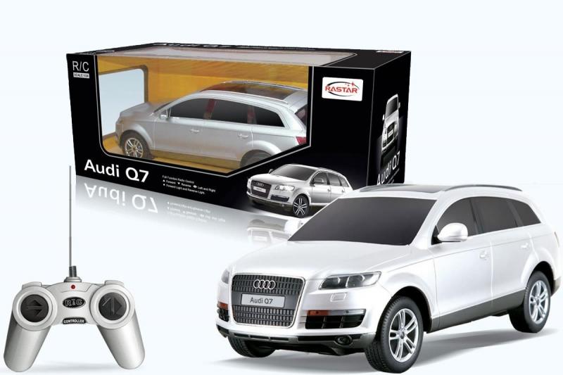 Audi Q7 teleghidat, Scara 124