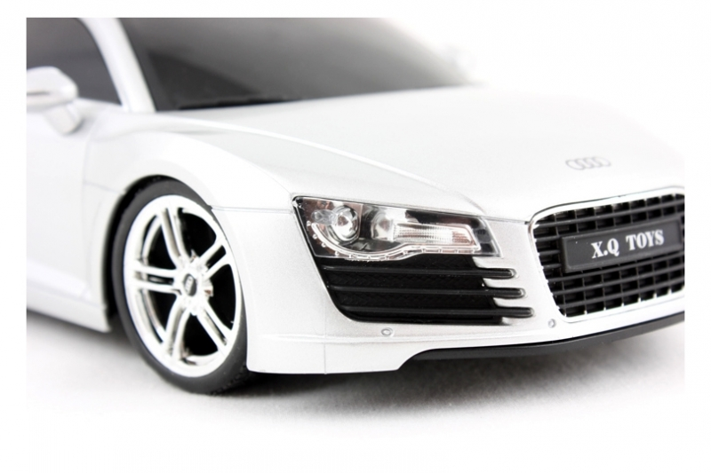 Audi R8 Teleghidat, Scara 118