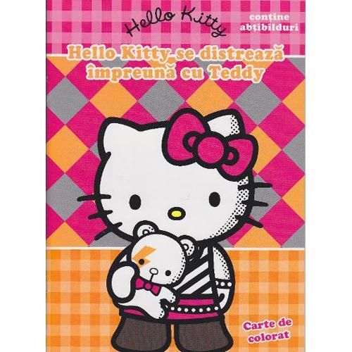 Carte Hello Kitty se Distreaza Impreuna cu Teddy