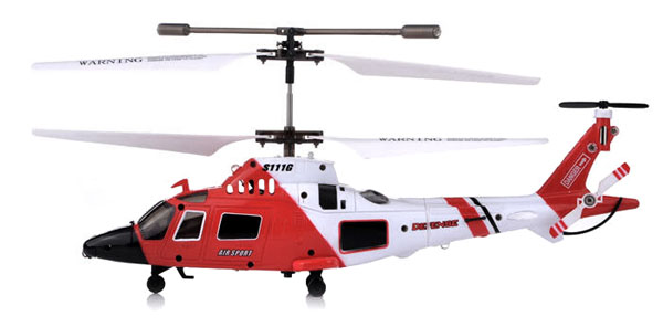 Elicopter Agusta A-109 cu Gyro, 3 canale, de interior Syma S111G