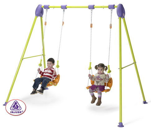 Leagan pentru copii Junior Double Swing Injusa