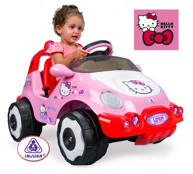 Masinuta Hello Kitty Injusa Electrica