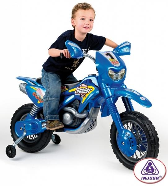 Motocicleta Moto Cross Thunder 6V