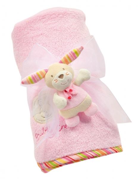 Paturica roz cu ursulet