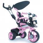 Tricicleta pentru copii Injusa City Purple