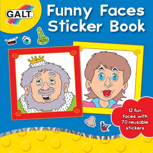 Carte abtibilduri Funny Faces sticker bo
