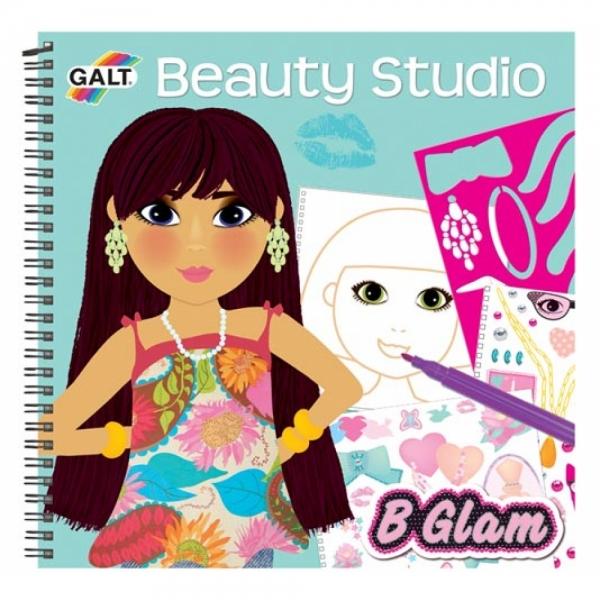 Carticica de colorat pentru fetite Beaut