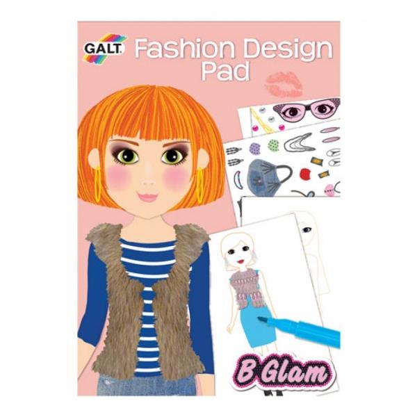 Carticica de colorat pt fetite Fashion D
