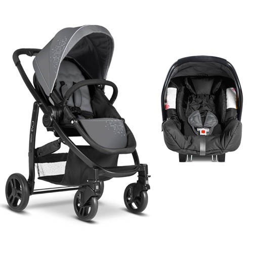 Carucior Evo 2 in 1 Charcoal